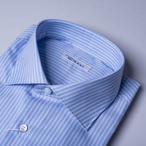 camicia celeste biriga bianca