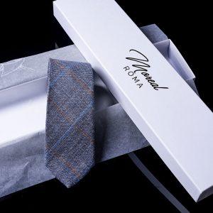 cravatta-lana-blu-riquadro-arancio-e-azzurro