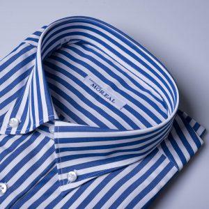 camicia fascia-bianca-azzurra