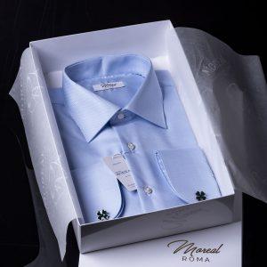 camicia con gemello-quadrifoglio