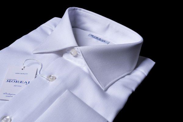 Camicia polso-gemello-riga-verticale-piquet