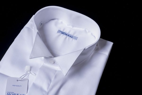 Camicia da smoking con colletto diplomatico