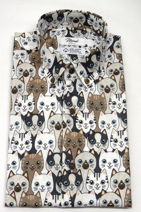Camicia serie green collection Gatti