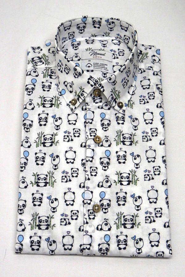 camicia serie green collection Panda