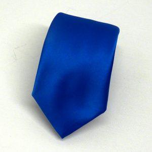 Cravatta blu elettrico
