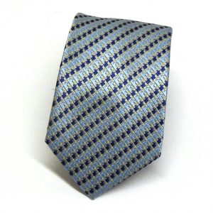 Cravatta seta blu celeste