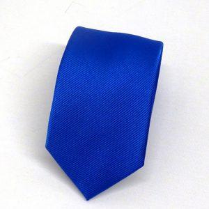 Cravatta seta diagonale azzurra