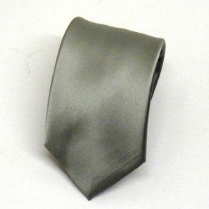 Cravatta seta grigio chiaro