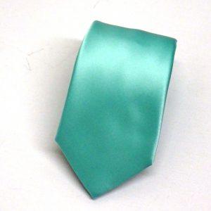 Cravatta verde acqua
