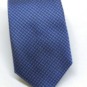Cravatta seta azzurra tondino