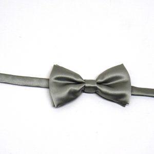 Papillon seta grigio perla