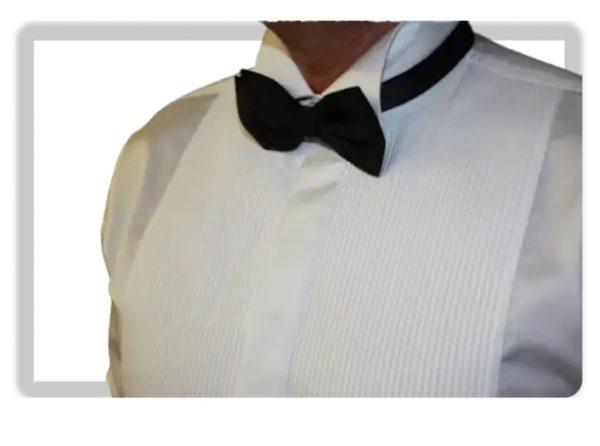 camicia smoking plissè moreal roma