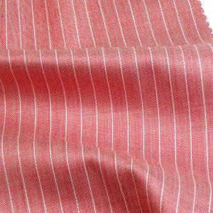 sm0301br Facile stiro rosso rigato