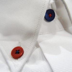 SM0252MI cotè bianco button down Moreal Roma