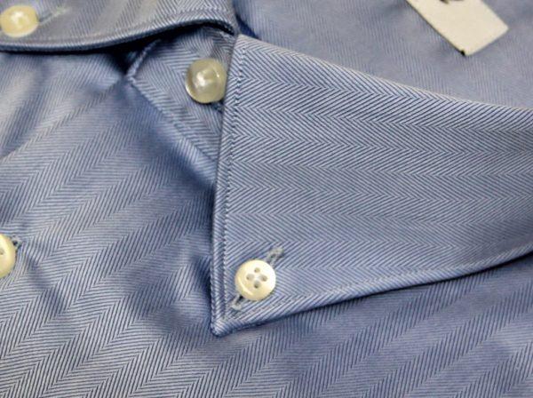 DO811L moreal Roma camicia spinata azzurro intenso