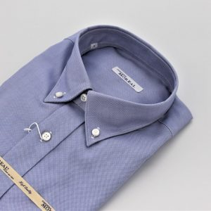 DO846MI CAMICIA CELESTE SCURO OXFORD MOREAL ROMA (3)