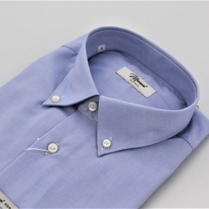 DO879J CAMICIA CELESTE OXFORD MOREAL ROMA (2)