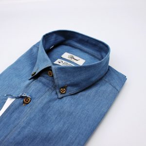 DO956CO CAMICIA JEANS CHIARO MOREAL ROMA (6)