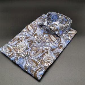 Camicia su misura in seta_Moreal roma