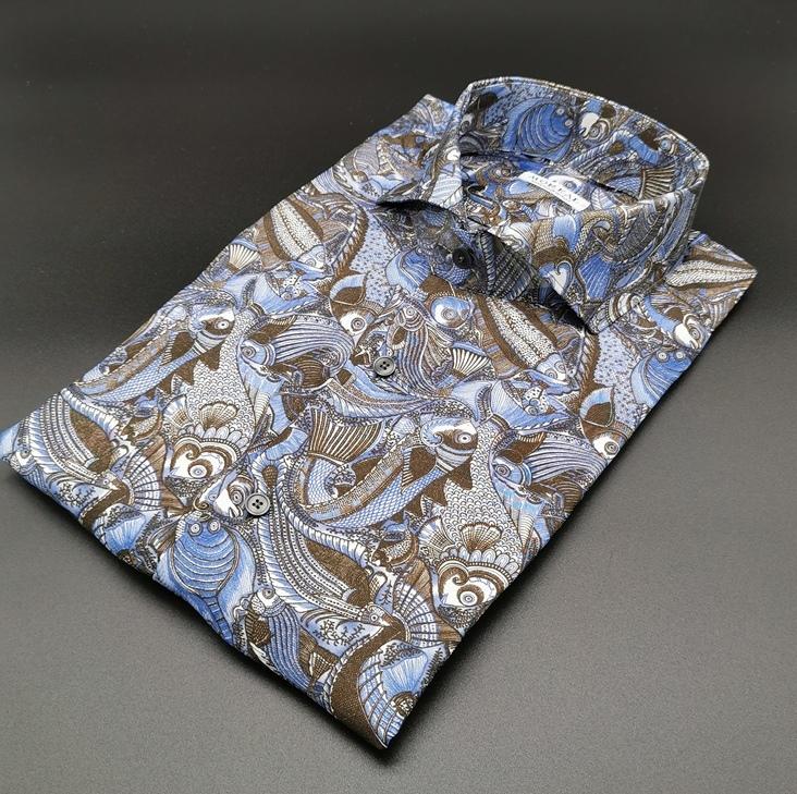 Camicia su misura in seta_Moreal roma - Copia