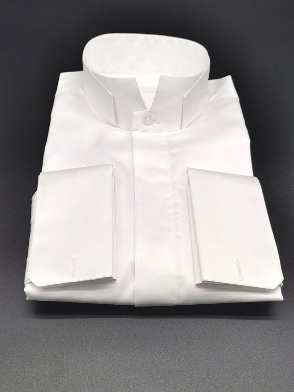 Camicia da cerimonia_collo Smith2_Moreal Roma